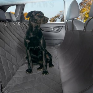 Medium image of plush paws   learn more at amazon    the dog seat cover from plush paws is quite similar to a hammock and it u0027s made of a non slip material to help your